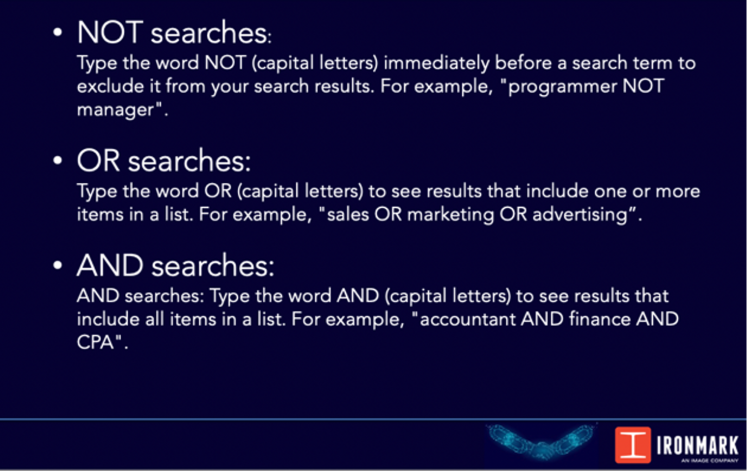 LinkedIn People Search Training | Ironmark - An Image Company
