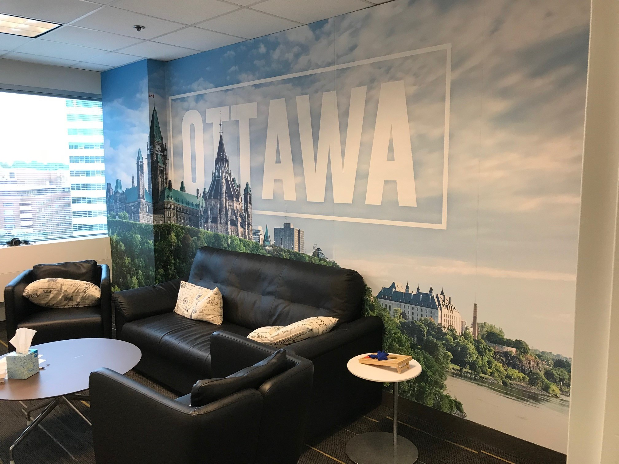 Large Format Wall Graphics | Ironmark, Annapolis Junction, MD